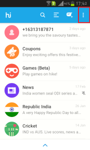 remove hike stickers from whatsapp