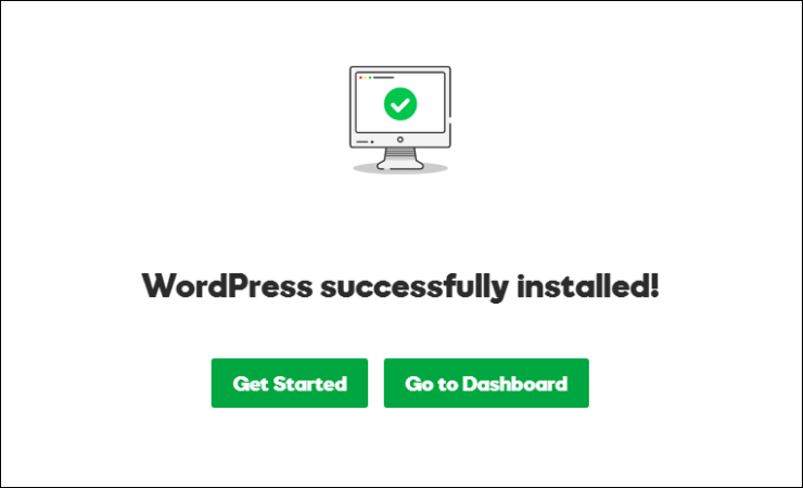 wordpress installed in godaddy managed wordpress