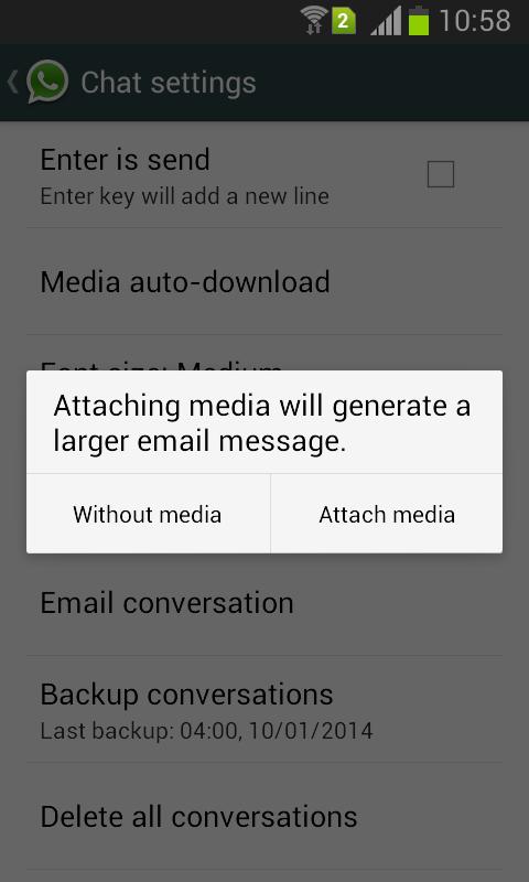 print whatsapp messages