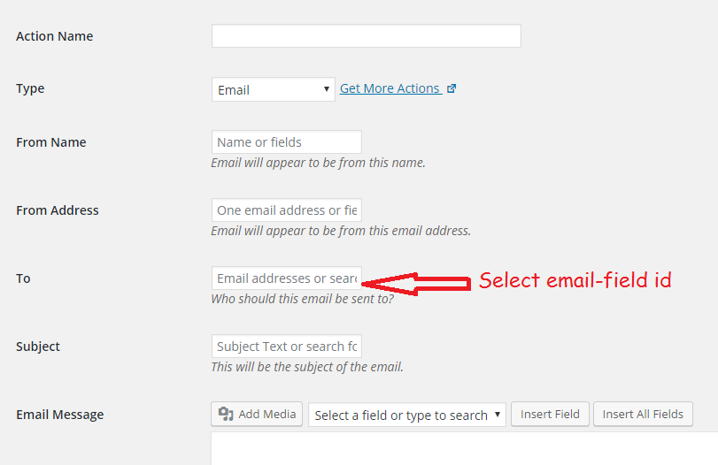 How to forward Ninja Forms submissions to email address