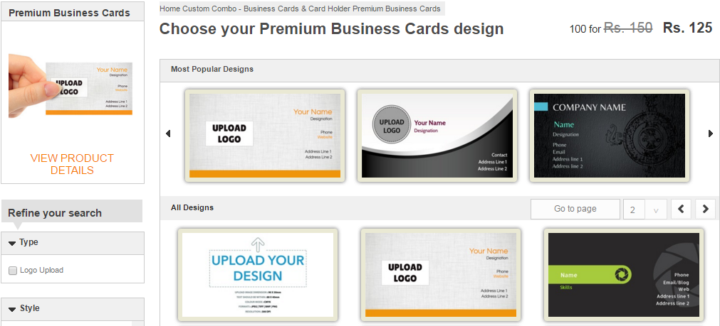 How to create business cards online in 10 minutes business card design reheart Choice Image