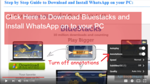 turn off annotations on youtube