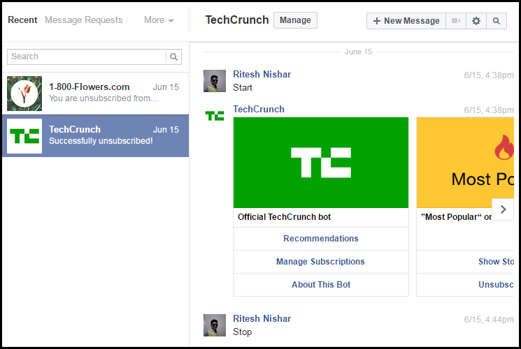 How to download Facebook chat messages to PC