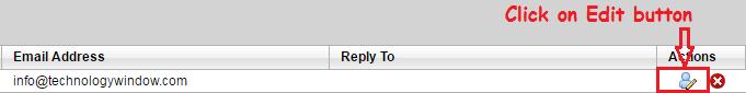 edit identities of godaddy workspace email