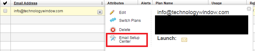 godaddy workspace email control center