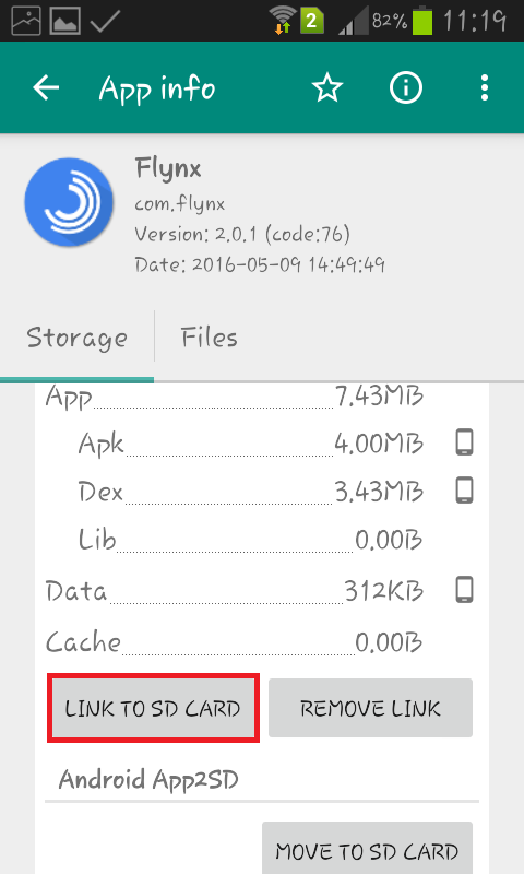 How to move apps to SD card on Android phone using Link2SD