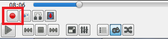 record button of vlc media player