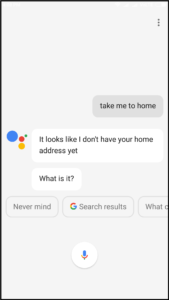 navigation for places using google assistant