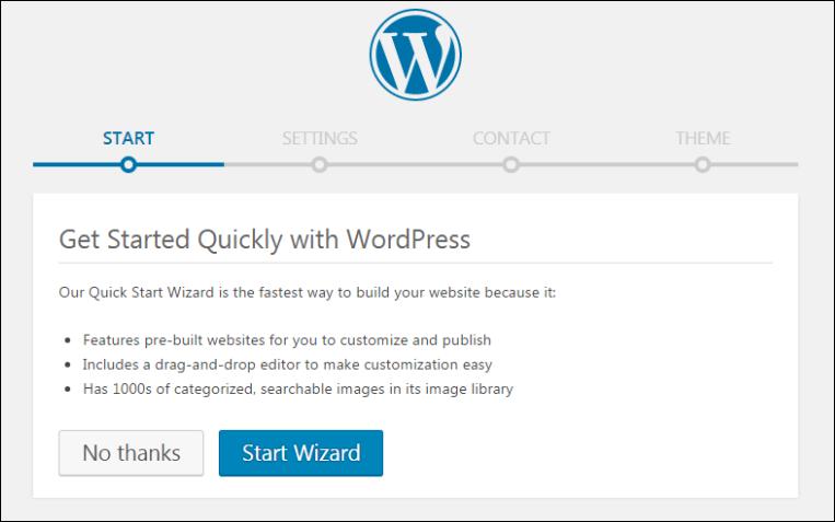 wordpress blog settings in godaddy managed wordpress hosting