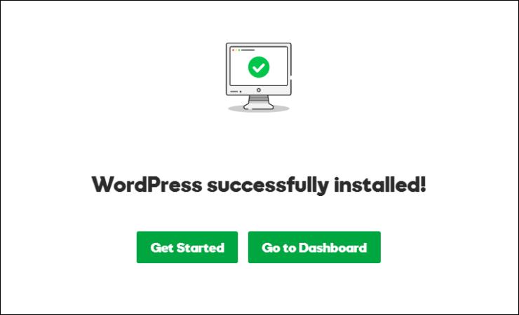 wordpress installed in godaddy managed wordpress